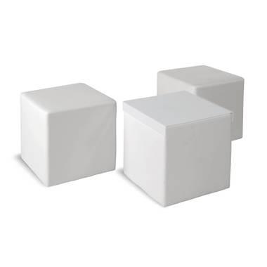 """Tischwürfel """"CUBE"""" mit Ablageplatte"""